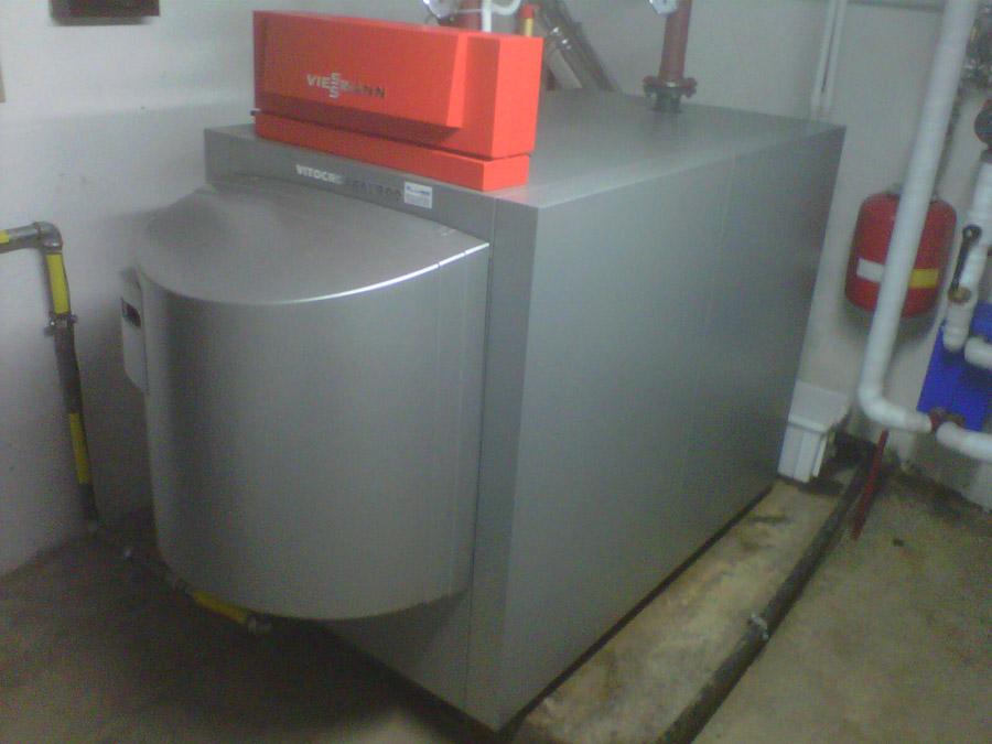 Centrale termica condensazione 1 termoidraulica luise for Caldaia a condensazione viessmann