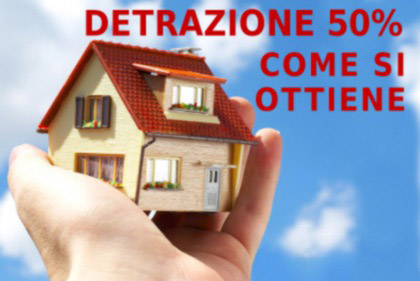 Detrazione 50 termoidraulica luise for Detrazione 50
